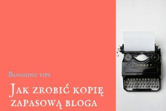 kopia zapasowa bloga
