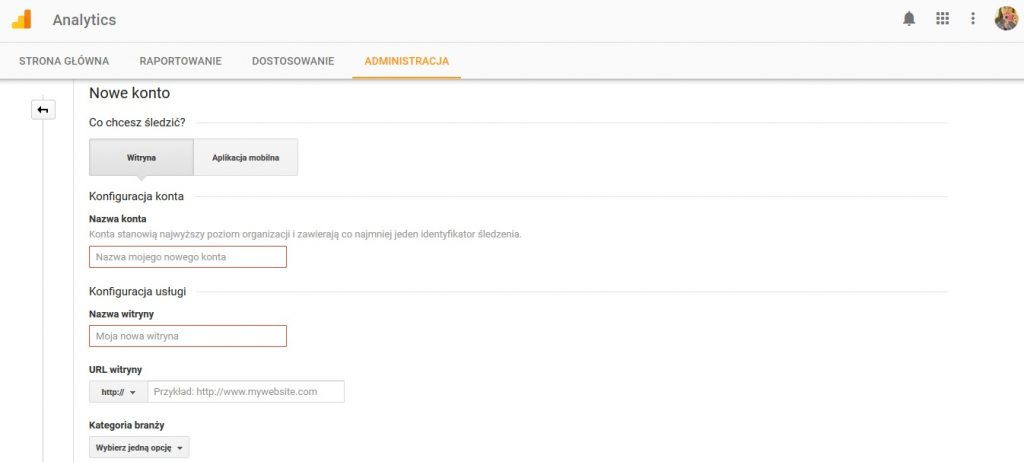 Jak dodać Google Analytics na Bloggerze