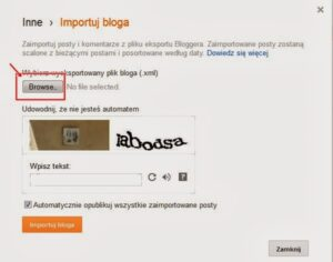 Jak przenieść bloga na inną domenę?