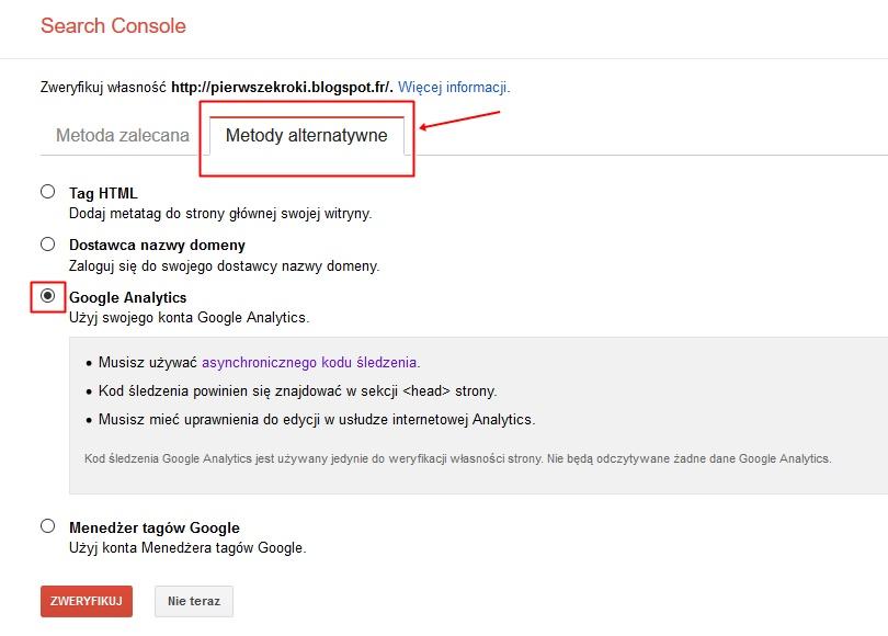 narzędzia dla webmasterów JAK DODAC BLOGA DO NARZEDZI DLA WEBMASTEROW