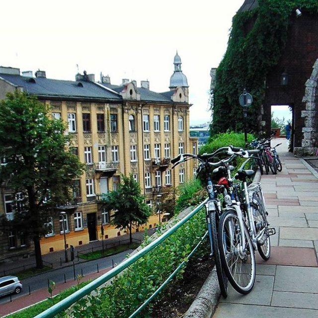 Krakow Poland typkrakow superpolska naszapolska lubiepolske traveldeeper travelingram bikelove bikelifehellip