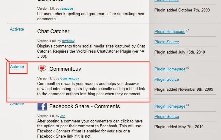Jak zainstalować wtyczke Comment Luv do bloga na Blogerze?