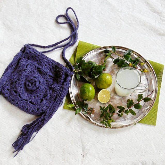 Szydelkowe torebka dla kilkuletniej fashionistki crochet crocheting knit knitting yarnhellip