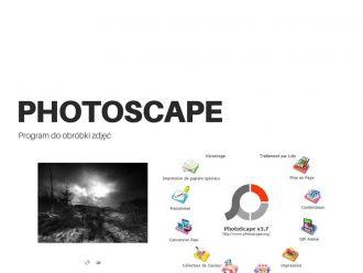 program do obróbki zdjęć