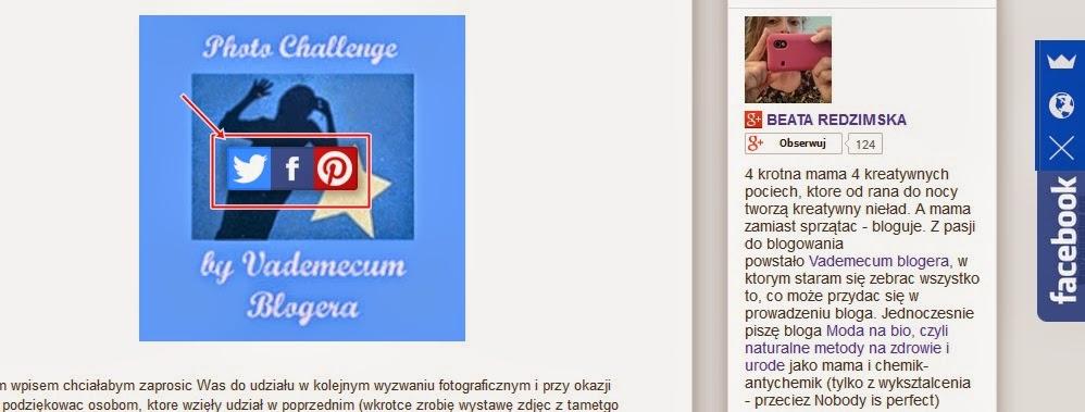 jak przerzucić zdjęcia z bloga do social media typu Facebook