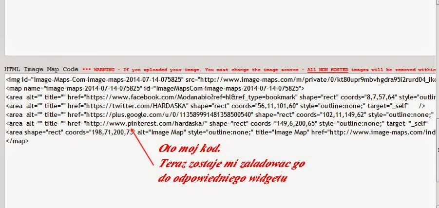 grafika na bloga, jak zrobić i dodać ikonki mediów społecznościowych