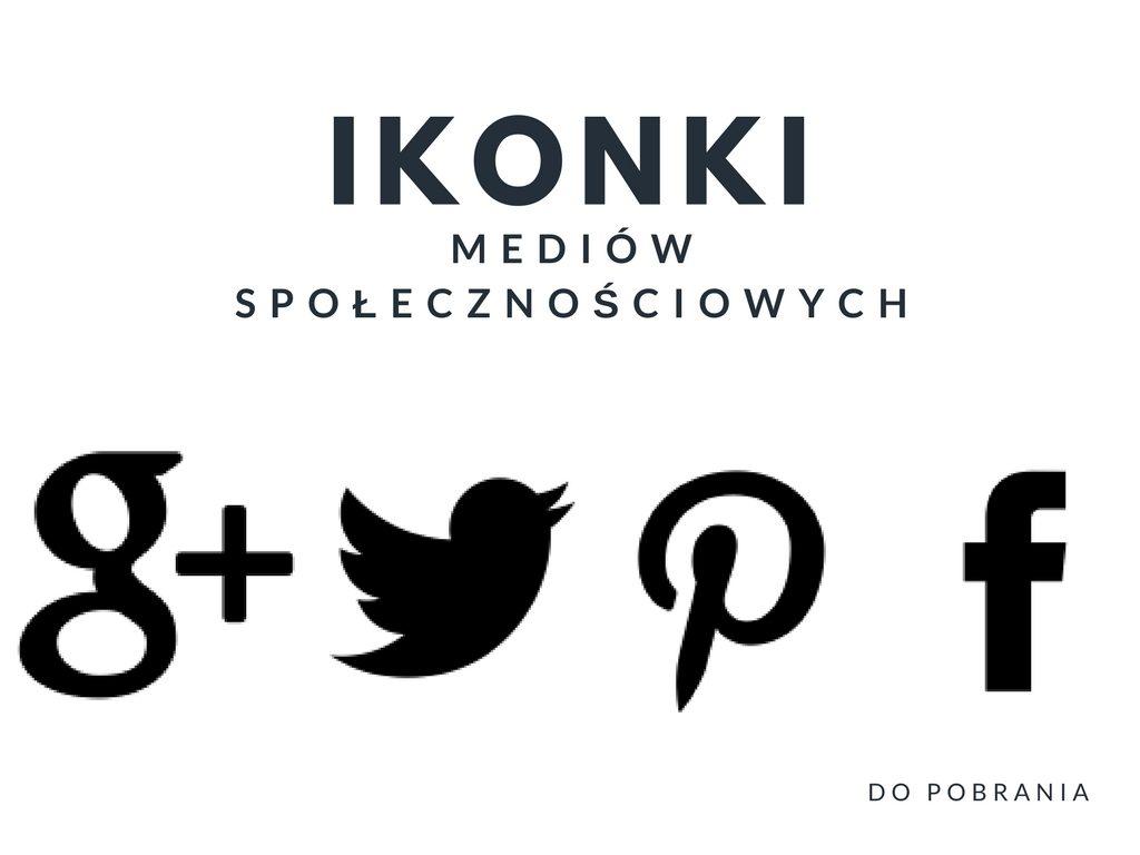 Ikonki mediów społecznościowych do pobrania