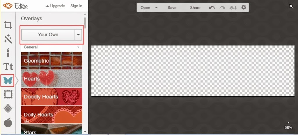 jak przygotować baner na stronę