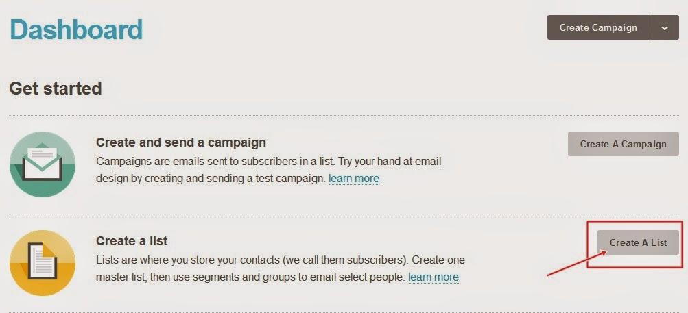 jak stworzyć newsletter, mailchimp