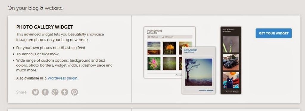 jak dodać instagram na bloga
