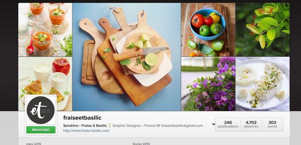 fotografia kulinarna jak zrobić ładne zdjęcie jedzenia Sandrine z bloga Fraise et basilic na Instagramie