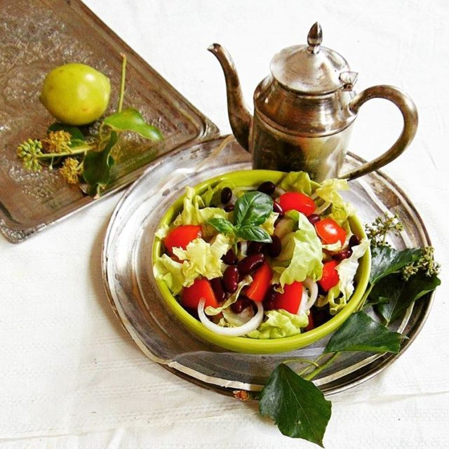 Simple salad ideas gloobyfood fotowyzwaniejestrudo foodies foodies foodstyling foodstagram onthebedhellip