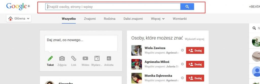 Jak mieć więcej wejść na bloga z Google Plus