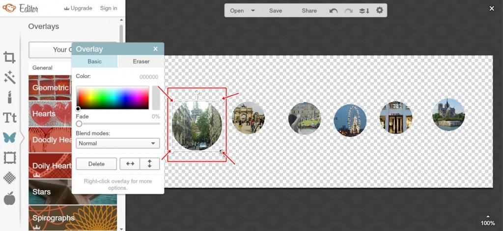 Jak zrobić okrągłe zdjęcie na bloga? OKRAGLE ZDJECIE 15