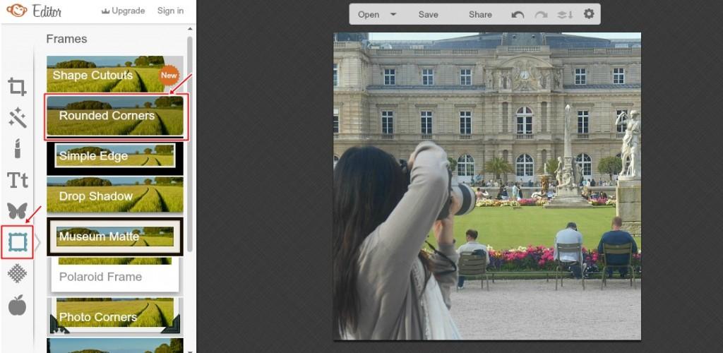 Jak zrobić okrągłe zdjęcie na bloga? OKRAGLE ZDJECIE 3