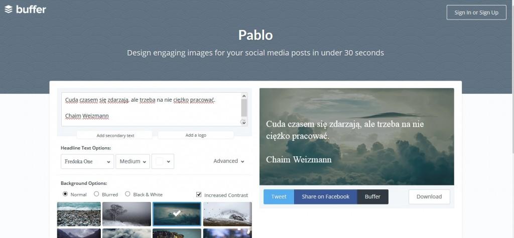 Jak zwiększyć zaangażowanie fanów na Facebooku PABLO