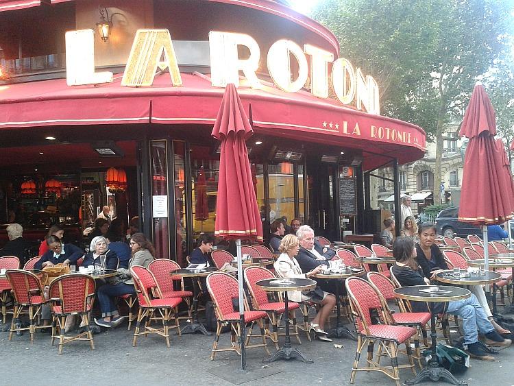 Co warto zobaczyć w Paryżu.  La Rotonde