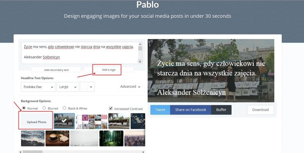 porady blogowe Pablo jak przygotowac grafiki na bloga