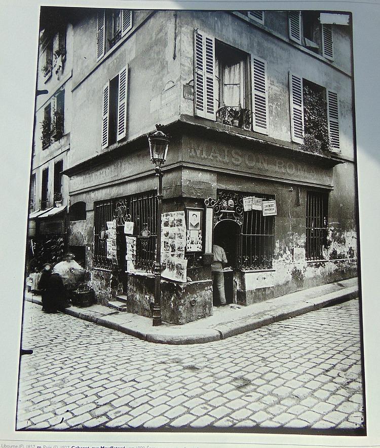 paryż na starej fotografii