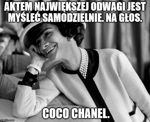 marketing a manipulacja Coco Chanel