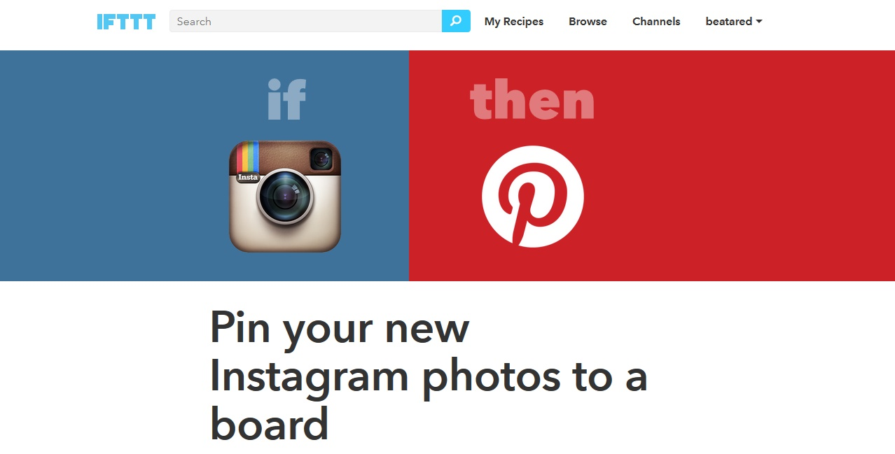 social media marketing IFTTT