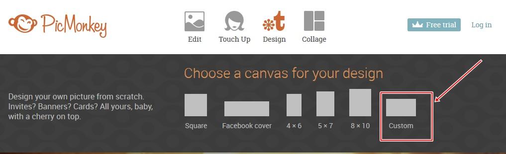 jak przygotować grafikę na stronę www PICMONKEY