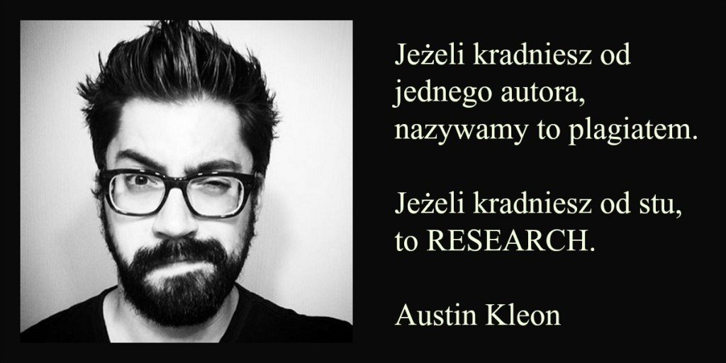 AUSTIN KLEON SEKRET BLOGOWANIA