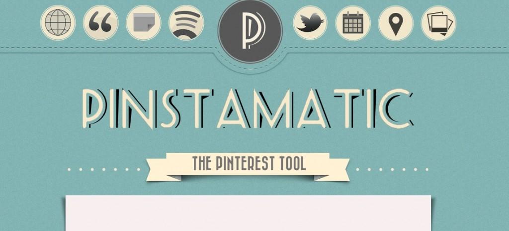 narzędzia do tworzenia ładnych treści na bloga PINSTAMATIC