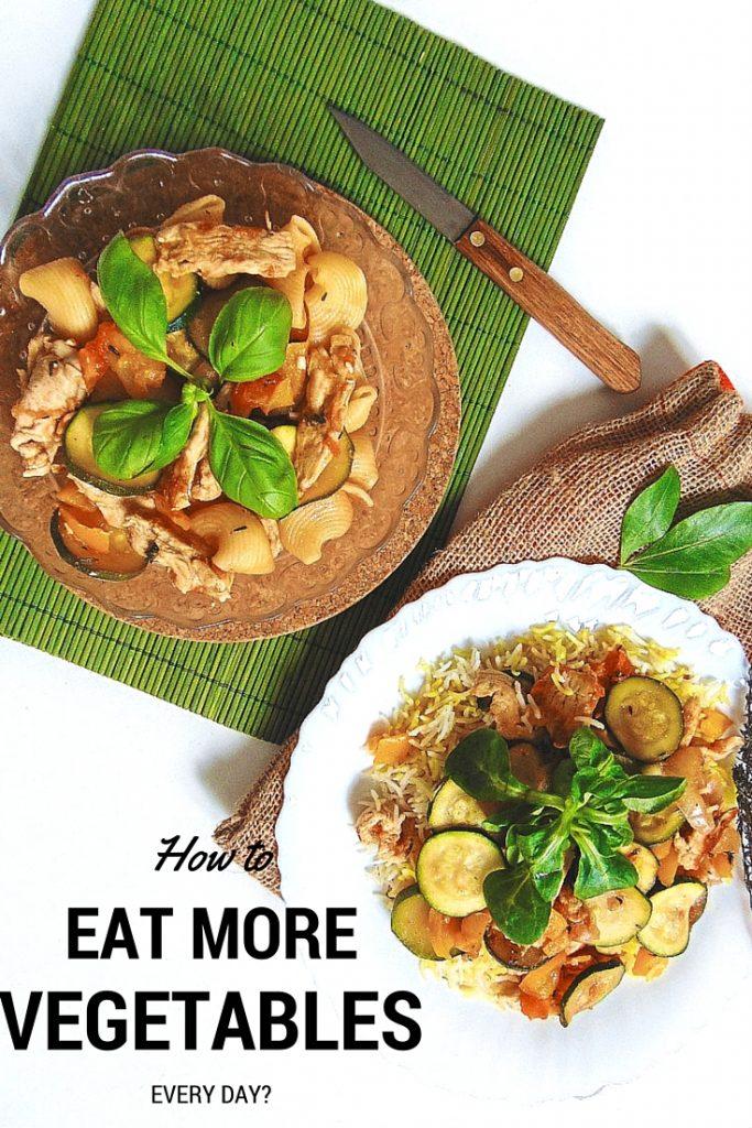 HOW TO EAT MORE VEGETABLES Jak jeść więcej warzyw i owoców Warzywa i owoce pomagają zachować równowagę kwasowo-zasadową organizmu.