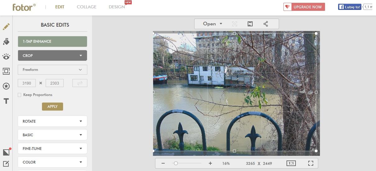 darmowe programy do edycji zdjęć FOTOR