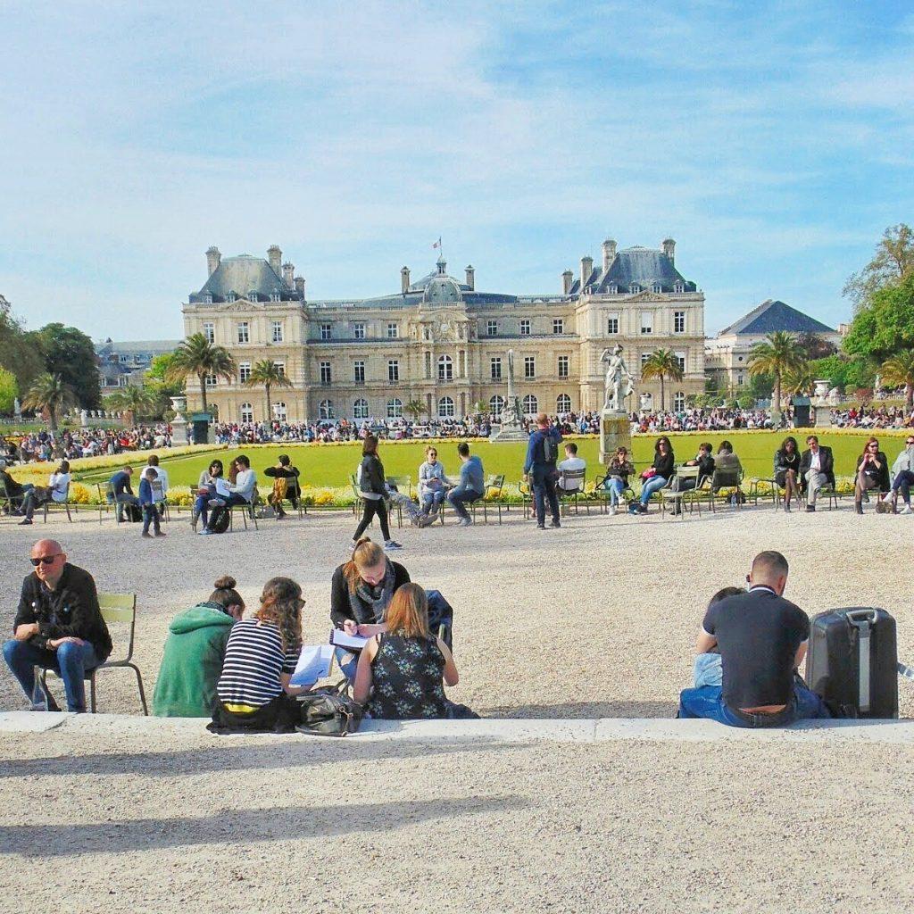 OGRODY LUKSEMBURSKIE paryż co warto zobaczyć