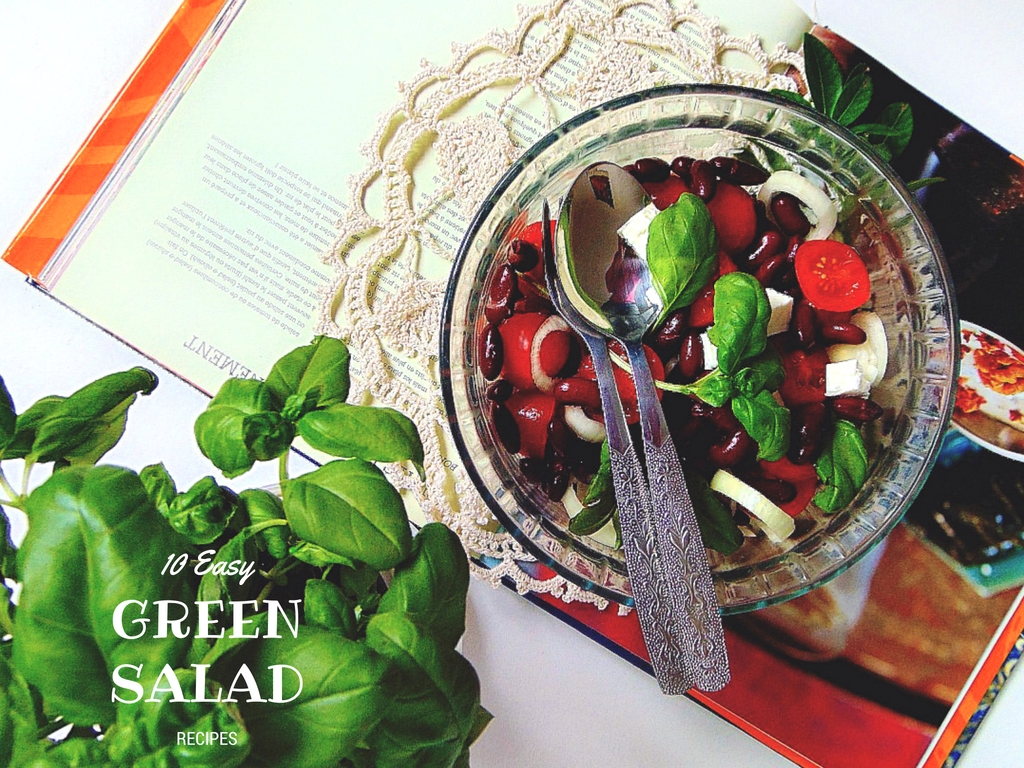 Proste sałatki. 10 Easy Green Salad Recipes