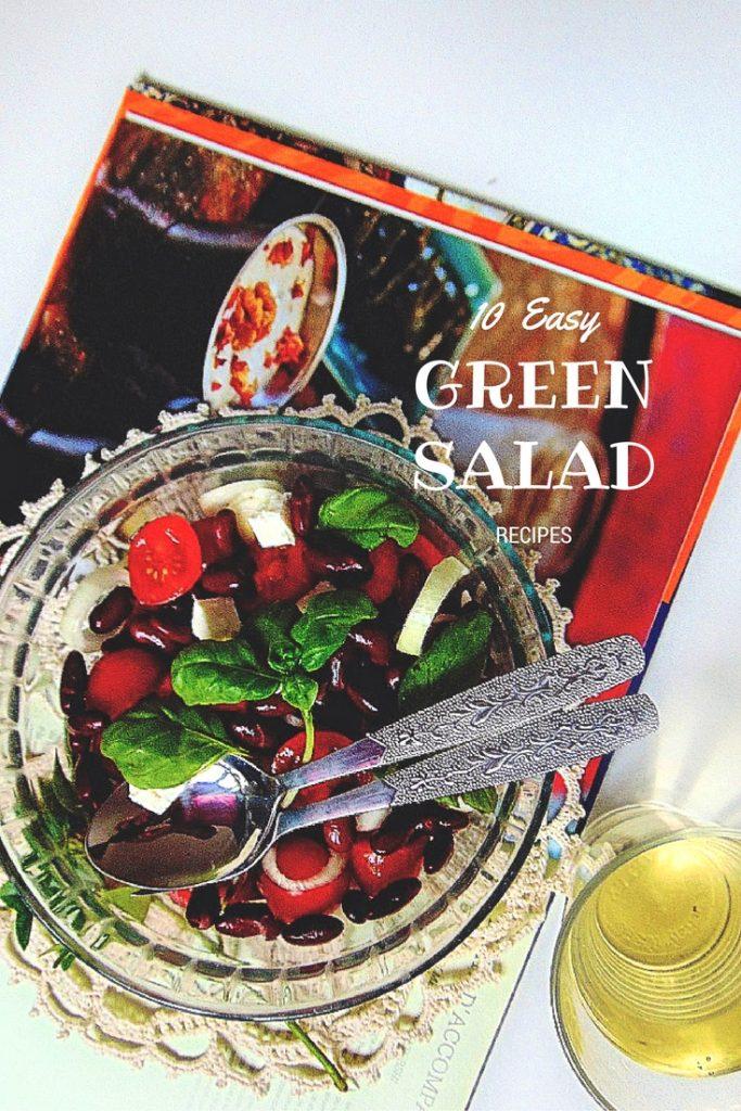 10 Easy Green Salad Recipes. Sałatka z czerwonej fasoli. Potrzebne nam będą: równe ilości fasoli, pomidorków koktajlowych i fety (np po 250g), cebula, bazylia, oliwa z oliwek, pieprz.