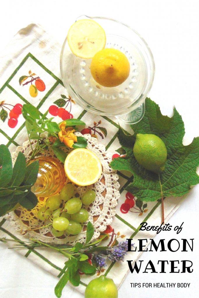 Benefits of #Lemon Water TIPS FOR HEALTHY BODY Lemon water - zen habit for body health. Woda z cytryna na zdrowie. Picie wody z cytryną na czczo rano po przebudzeniu jako dobry nawyk dla zdrowia.