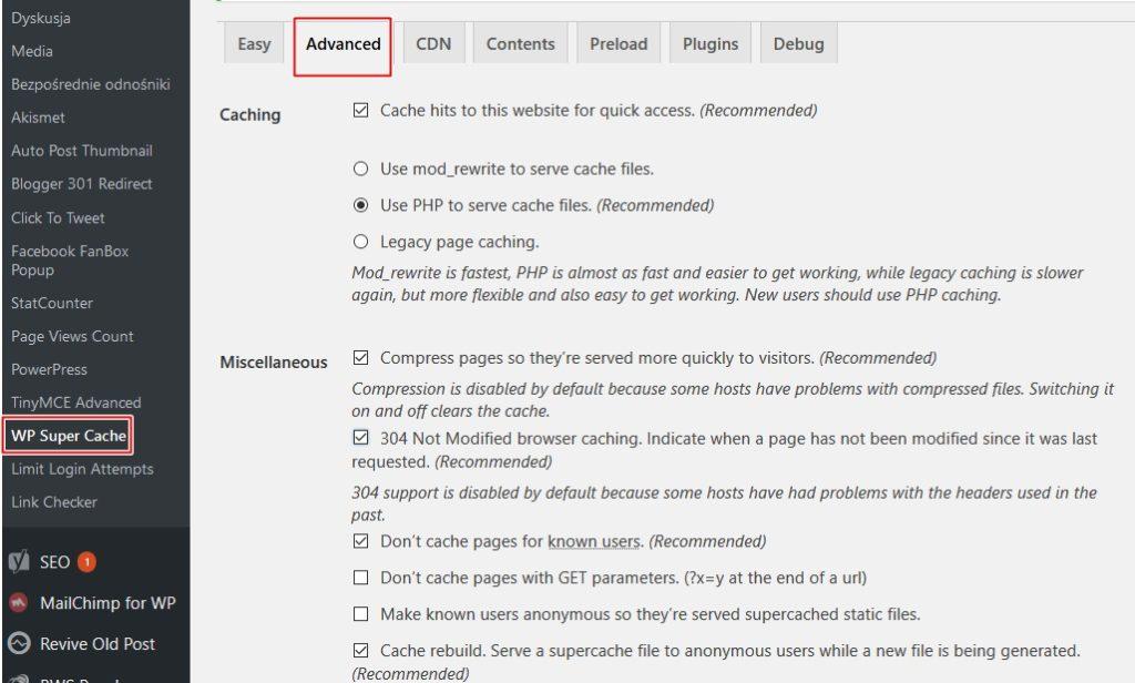 Wtyczki na wordpress