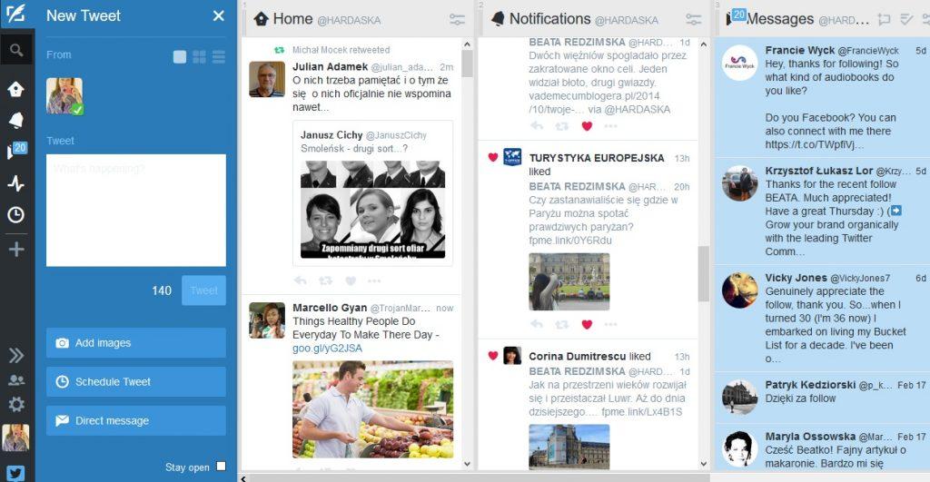 Twitter kurs blogowania