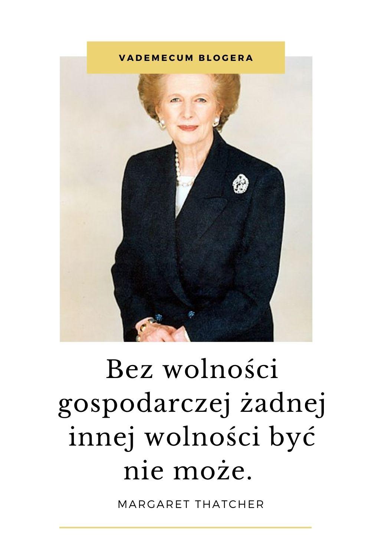 Margaret Thatcher CYTATY