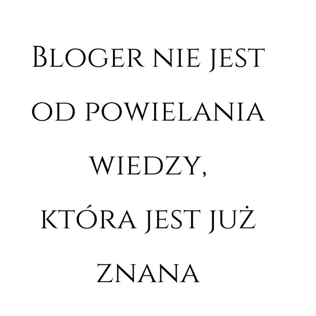 jak pisac bloga