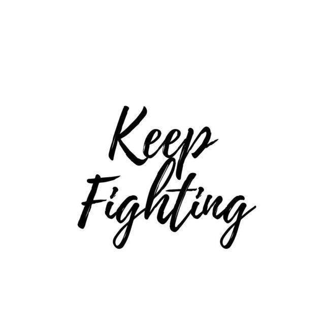 Keep fighting Nie poddawaj si S takie momenty zdarzaj sihellip