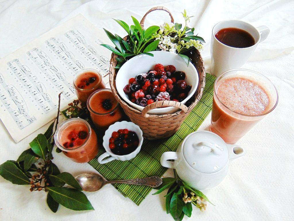smoothie przepisy smoothie z malin