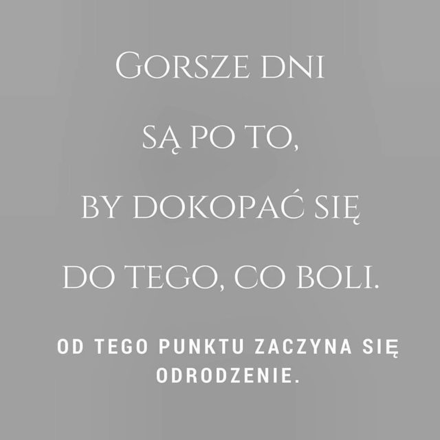 Gorsze dni s po to by dokopa si do tegohellip