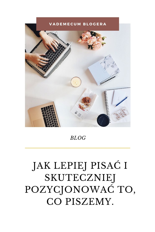 JJak lepiej pisać i skuteczniej pozycjonować to, co piszemy.