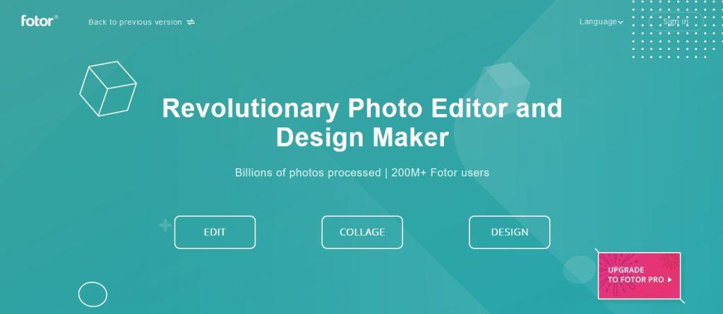 fotor programy graficzne