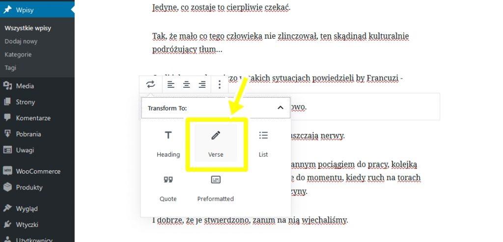 Gutenberg - nowy edytor treści w WordPressie