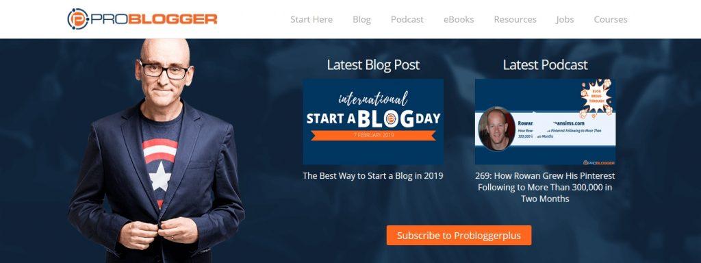 podcast o marketingu, biznesie online, social mediach PROBLOGGER