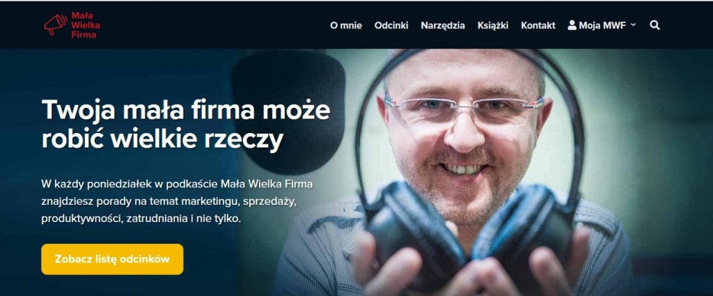 podcast o marketingu, biznesie online, social mediach MAREK JANKOWSKI