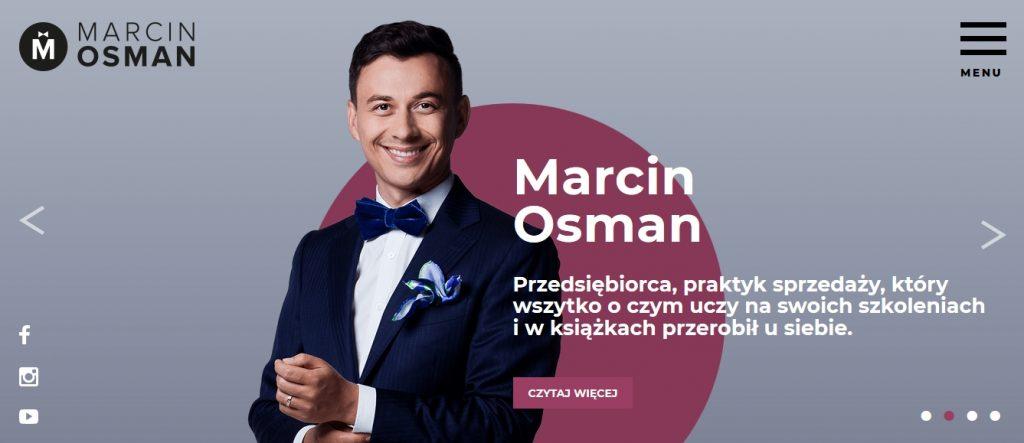 podcast o marketingu, biznesie online, social mediach MARCIN OSMAN