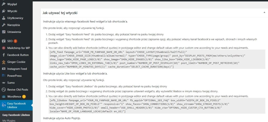 facebook wordpress pop up plugin