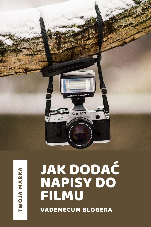 JAK DODAC NAPISY DO FILMU