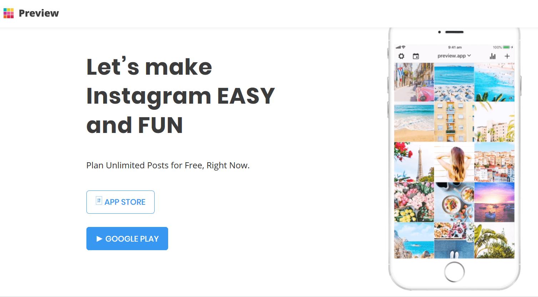 Aplikacja Preview. Ta aplikacja która pomogła mi uspójnić Instagrama, a jednocześnie lepiej zorganizować tu moje działania.